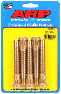 MUSTANG 2 1/2-20FRONT WHEEL STUD 5PC