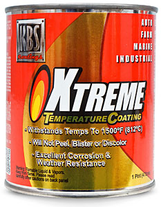 PINT CAST IRON GREY Xtreme Temperature Coating
