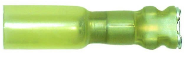 FULLY INSULATED SLIP ON CONNECTOR SOLDER STYLE 10-12 AWG , .250